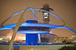 The Theme Building at Los Angeles Airport
