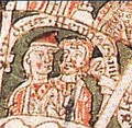 Henry the Proud (1102–1139), Duke of Bavaria and Saxony, and his wife Gertrud of Saxony, daughter of Lothair II, Holy Roman Emperor, Duke of Saxony