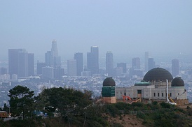 Griffith Park, the City's largest public park is in Northwest Los Angeles