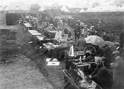 Shooting at the 1908 Summer Olympics: the revolver and pistol competition at Bisley, Surrey