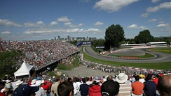exit of Turn 2, Senna 'S' during F1 event