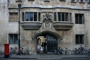The Gatehouse is the oldest in Cambridge, dating from the 14th century