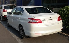 Peugeot 408 II (China) pre-facelift (rear)