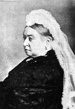 Queen Victoria in 1897, the year after she founded the Royal Victorian Order