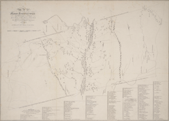 1767 map of Rensselaerswyck