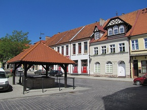 Reszel historic city center