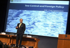 "Senior distinguished fellow of U.S. Naval War College Randy Forbes gives keynote address ""Sea Control and Foreign Policy"""