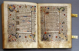 Mary Stuart's personal breviary, which she took with her to the scaffold, is preserved in the National Library of Russia of St. Petersburg