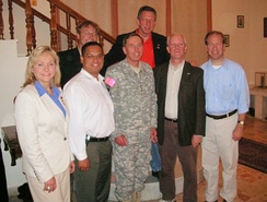Rep. Mary Fallin, Keith Ellison, and Jerry McNerney among Congressional deligate meet with Commander of Multi-National Force – Iraq General David Petraeus in 2007