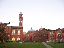 Aston Webb building from the rear