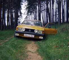 Rare lower model (L and S trims) European market Scirocco with rectangular headlights[6]