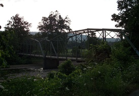 Crawford Twp. contains the Woolsey Bridge, which carries Washington CR 35 over the West Fork of the White River near the historic location of Woolsey, Arkansas.