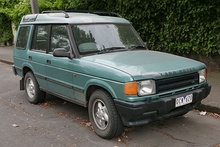 Facelift Land Rover Discovery V8i five-door (Australia)