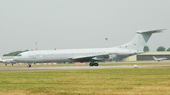 A VC10 K3 in 2013 the last year of operation.