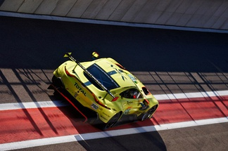 The #95 Aston Martin Vantage AMR at the 6 Hours of Spa 2018