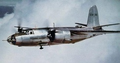 Martin B-26, first combat aircraft of the group.
