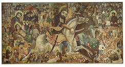 Battle of Karbala, Brooklyn Museum