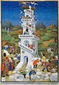 Bedford Hours; building the Tower of Babel