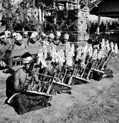 Angklung Players, Indonesia, 1949.