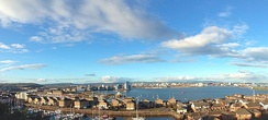 Overlooking Cardiff Bay, viewed from Penarth