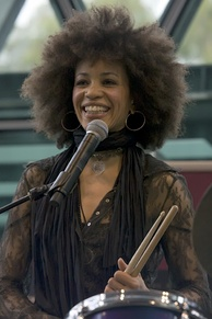 Cindy Blackman in 2008