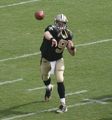Drew Brees, currently of the New Orleans Saints