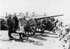 Elswick Battery gun in South Africa