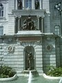 Louis-Philippe Hébert's Amerindian Family sculpture in front of Parliament Building (Quebec)