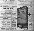 1915 advertisement for the Fourth National Bank and tenants in its headquarters building