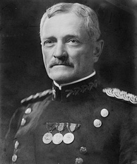 General John J. Pershing, commander of the American Expeditionary Forces in World War I, was raised in Laclede, Missouri.