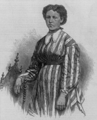 Julia Hayden, a 17-year-old Louisianan schoolteacher who was murdered by the White League in 1874.[3]