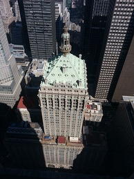 The Helmsley Building, formerly the New York Central Building, was the railroad's headquarters