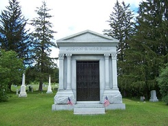 Mausoleum of Senator Justin Smith Morrill in Strafford, Vermont