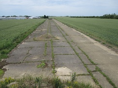 Taxiway at RAF Kimbolton in 2011