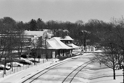 Kirkwood Amtrak station, circa 2009