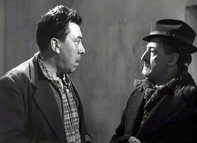 Fernandel (left) and Totò in The Law Is the Law (1958)