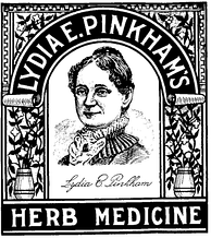 Lydia Pinkham's Herb Medicine (circa 1875) remains on the market today.