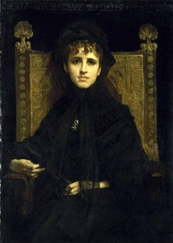 Geneviève Bizet, painted in 1878 by Jules-Élie Delaunay.