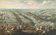 The Battle of Poltava in 1709 turned the Russian Empire into a European power.