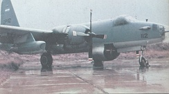 The Argentine Navy SP-2H that tracked HMS Sheffield