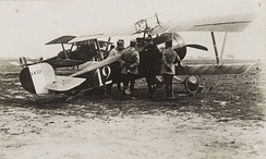 Nieuport 17 flown by René Dorme while with escadrille N.3 during the battle of the Somme, late 1916