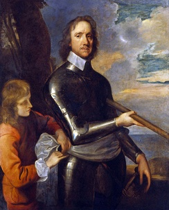 Oliver Cromwell c. 1649 by Robert Walker. National Portrait Gallery, London