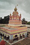 Main temple dedicated to Devadeveshwara (Shiva) was built on Parvati Hill in 1749 during the tenure of Nanasaheb Peshwa