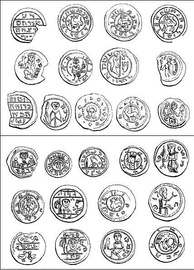 Early-medieval Polish coins with Hebrew inscriptions