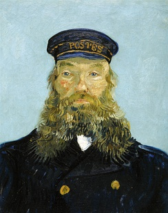 Van Gogh's Portrait of the Postman Joseph Roulin, donated by Ford to the Detroit Institute of Arts