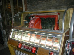 By the middle of the 1940s, three-quarters of the records produced in America went into jukeboxes