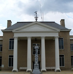 Tazewell County Courthouse, Tazewell Historic District, Tazewell