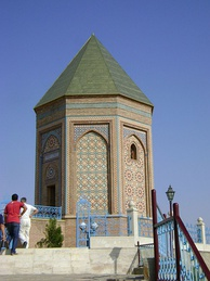 A modern mausoleum marks the place in Nakhchivan City traditionally believed to be the site of Noah's grave.