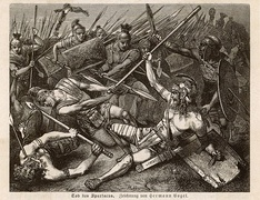 The Death of Spartacus by Hermann Vogel (1882)