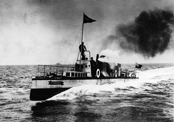 Turbinia – the first steam turbine-powered ship